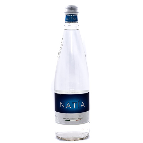 Natia Ferrarelle Natural Still Mineral Water, Special Edition Clear Bottle