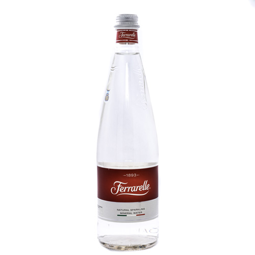 Ferrarelle Sparkling Mineral Water, Special Edition Clear Bottle