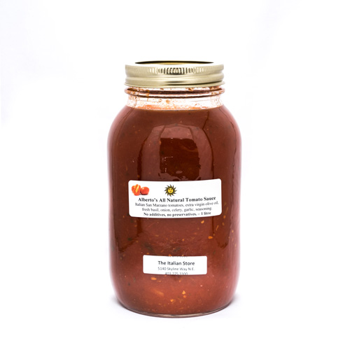 Alberto's San Marzano Tomato Sauce