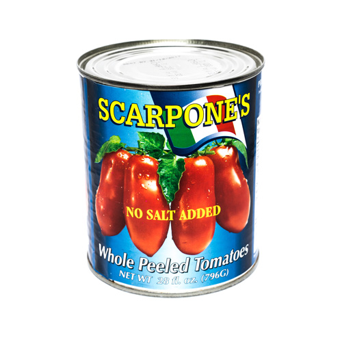 Scarpone's Italian No Salt Tomatoes