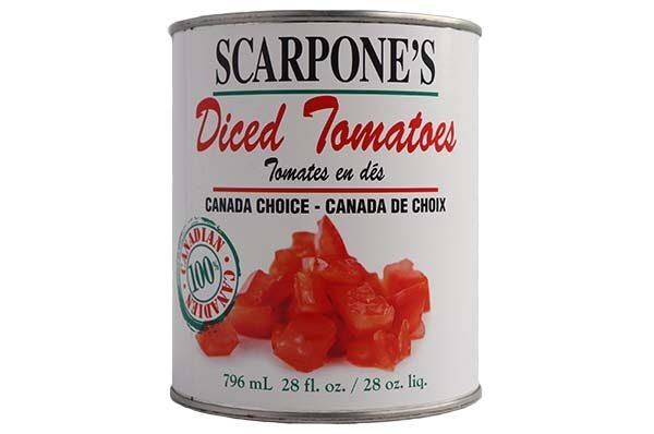 Scarpone's Diced Tomatoes