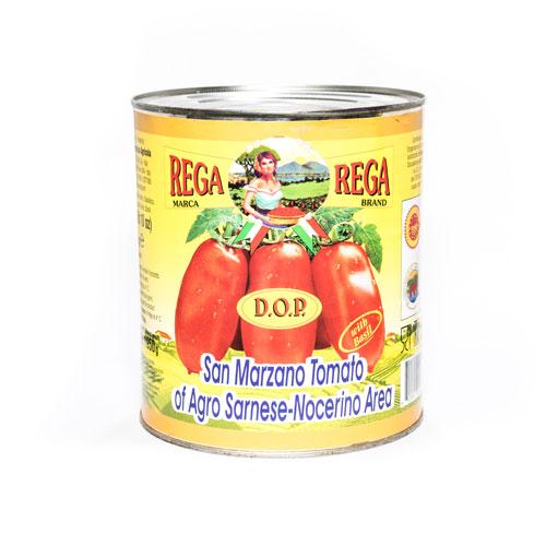 Rega Italian D.O.P. Certified San Marzano Tomatoes