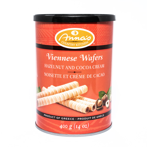 Anna's Country Kitchen Viennese Hazelnut Cocoa Cream Wafers