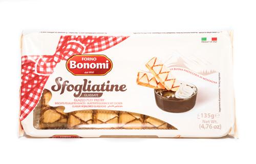 Forno Bonomi Italian Sfogliatine Glazed Puff Pastry