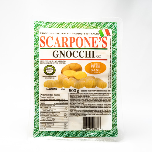 Gnocci Potato Dumpling Pasta