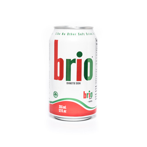 Brio Chinotto Italian Soda Can