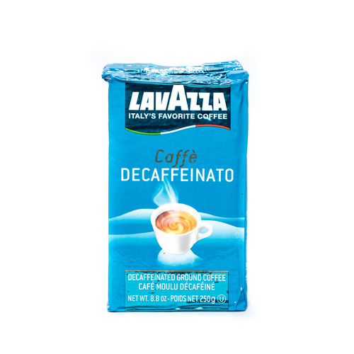 Lavazza Decaffeinated Ground Vac Pack Espresso
