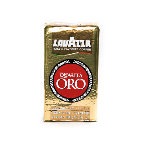 Lavazza Qualita Oro Ground Vac Pack Espresso