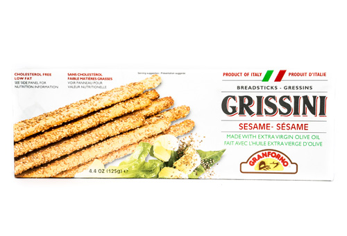 Granforno Sesame Grissini Breadsticks