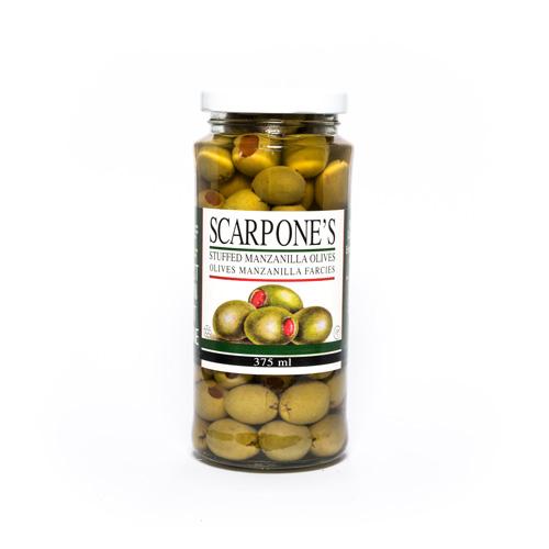 Scarpone's Stuffed Manzanilla Olives