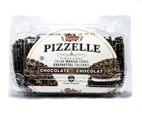Reko Chocolate Pizzelle Waffle Cookie