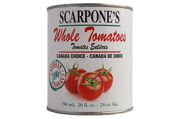 Scarpone's Whole Tomatoes