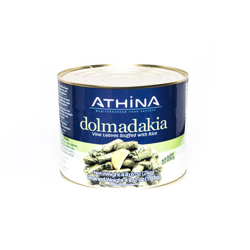 Athina Dolmas, Vineleaves Stuffed with Rice