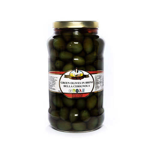 Bella Rega Cerignola Green Olives