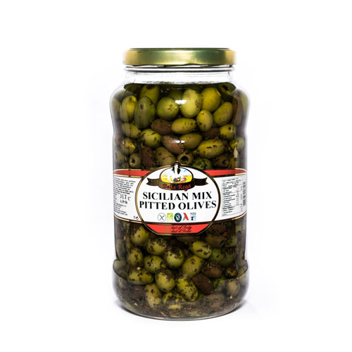 Bella Rega Sicilian Mixed Pitted Olives