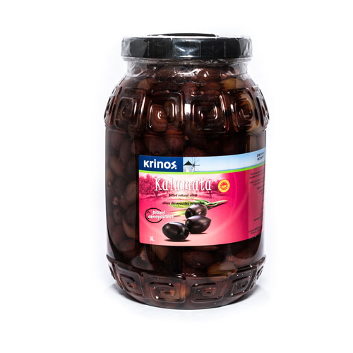 Krinos Kalamata Pitted Olives