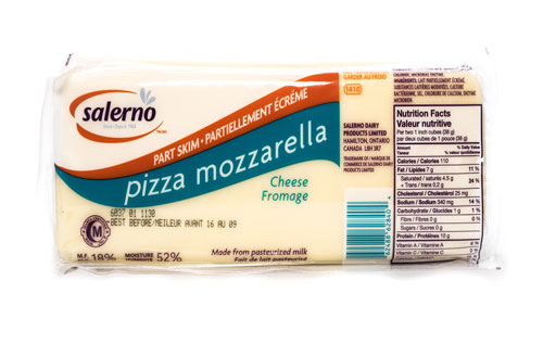 Salerno Mozzarella – Part Skim Block