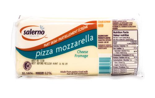 Salerno Mozzarella – Part Skim Block