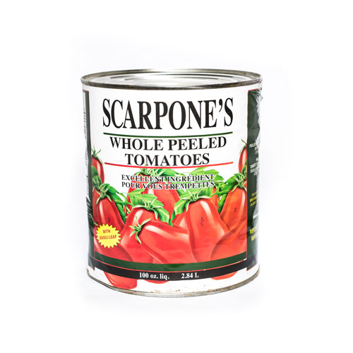 Scarpone's Italian Peeled Tomatoes in Puree