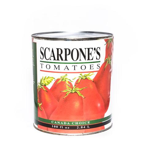 Scarpone's Tomatoes Whole Peeled