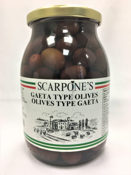 Gaeta Type Olives