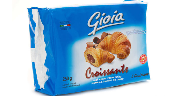 Gioia Croissants with Cocoa Cream Filling