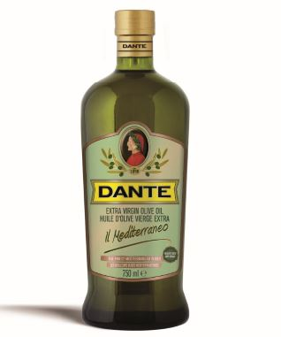 Dante Il Mediterraneo Extra Virgin Olive Oil 750ML