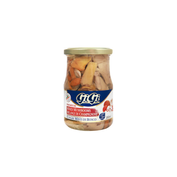 GiGi Mixed Mushrooms In Oil
