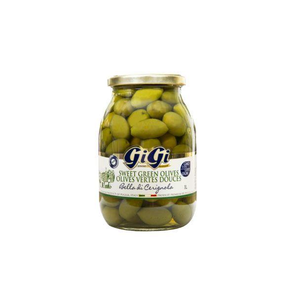 GiGi Sweet Green Cerignola Olives