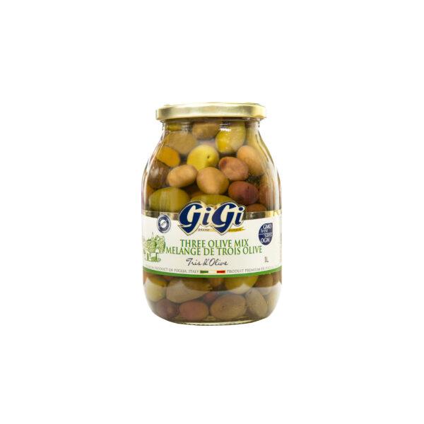 GiGi Three Olive Mix