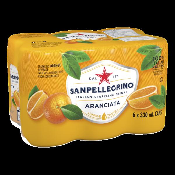 San Pellegrino Aranciata 6 Pack