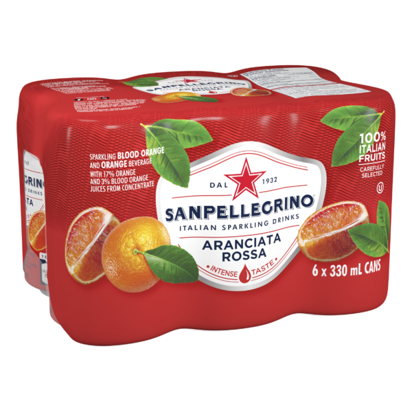 San Pellegrino Aranciata Rossa 6 Pack