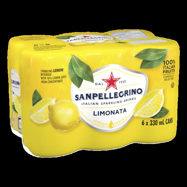 San Pellegrino Limonata 6 Pack