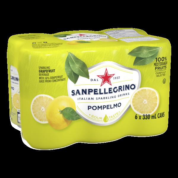 San Pellegrino Pompelmo 6 Pack