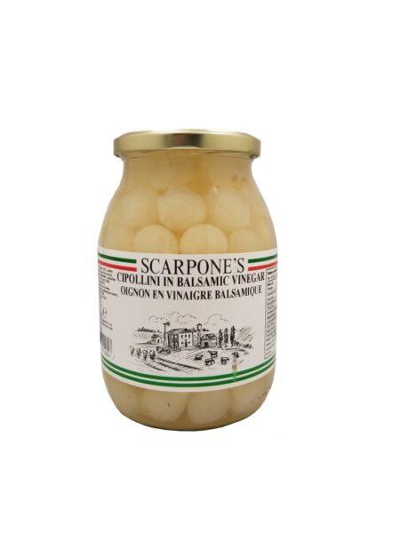 Scarpone's Cipollini In Balsamic Vinegar