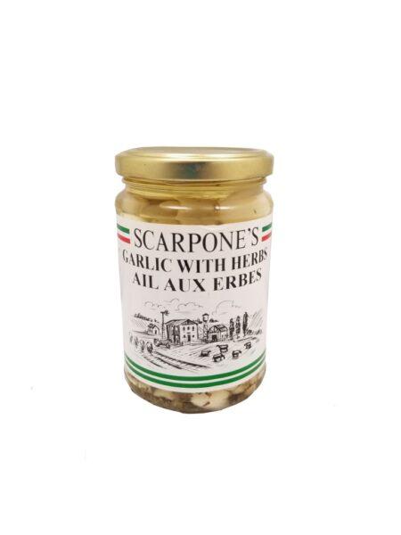 Scarpone's Garlic With Herbs