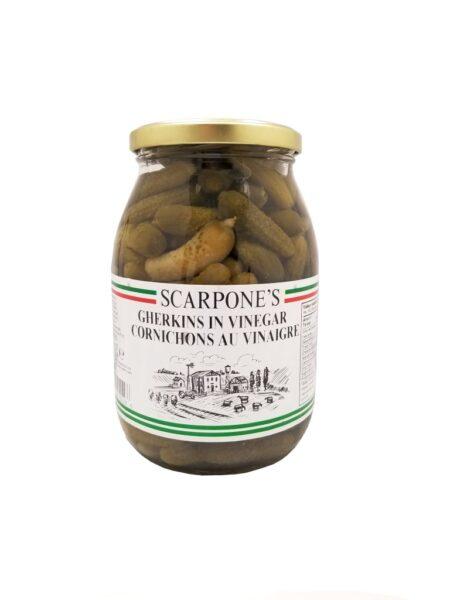 Scarpone's Gherkins In Vinegar