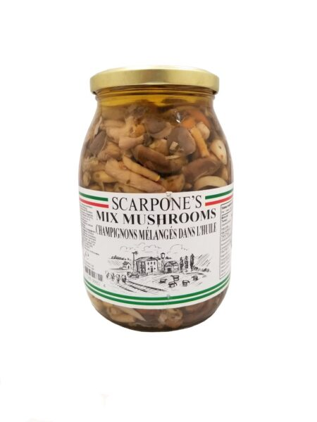 Scarpone's Mixed Mushrooms In Oil