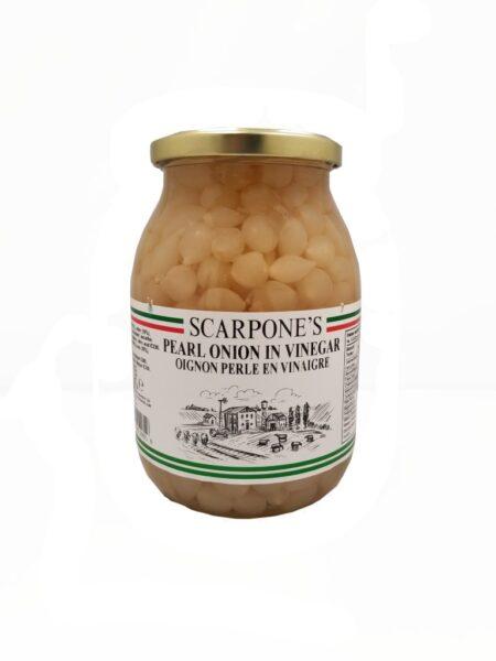 Scarpone's Pearl Onions In Vinegar