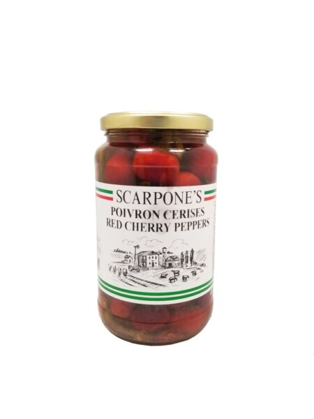 Scarpone's Red Cherry Peppers
