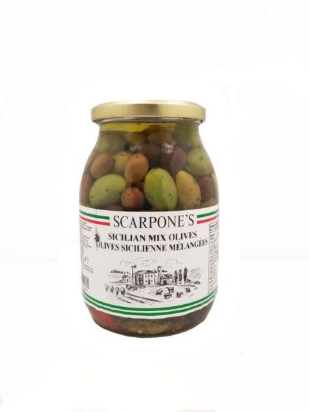 Scarpone's Sicilian Mix Olives