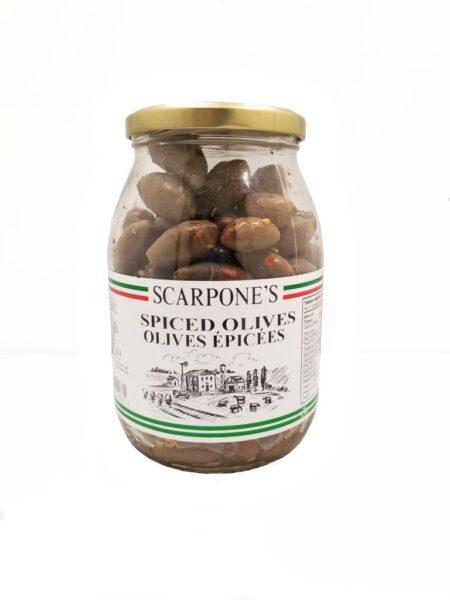 Scarpone's Spiced Olives