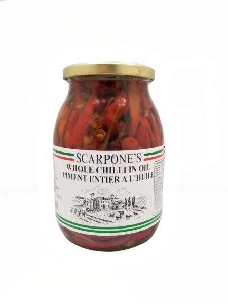Scarpone's Whole Chilli In Oil