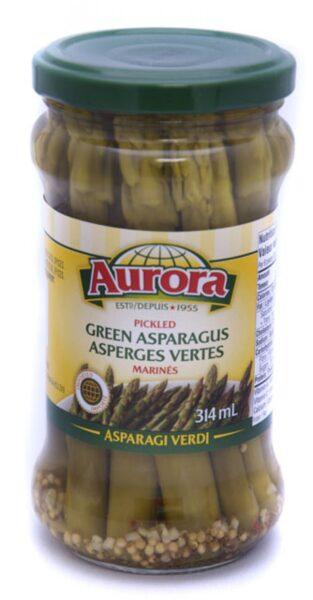 Aurora Pickled Green Asparagus