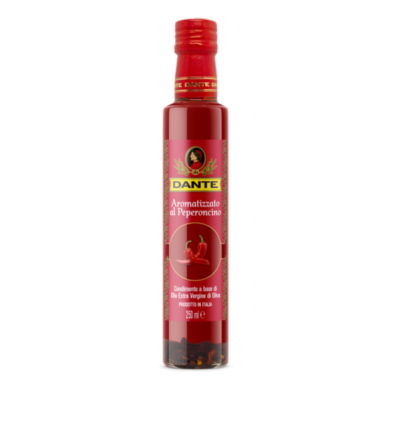 Dante Chilli Pepper Infused Extra Virgin Olive Oil