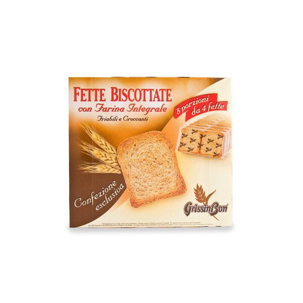 Grissin Bon Fette Biscottate Whole Wheat