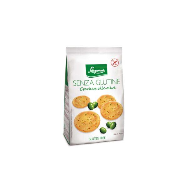 Lazzaroni Gluten Free Olive Crackers