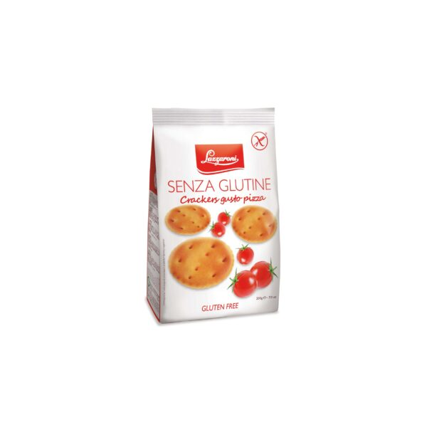 Lazzaroni Gluten Free Pizza Crackers