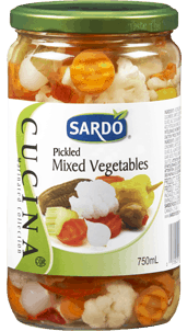 Sardo Pickled Mixed Vegetables